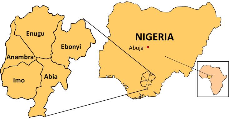 Igbo Speaking States in Nigeria