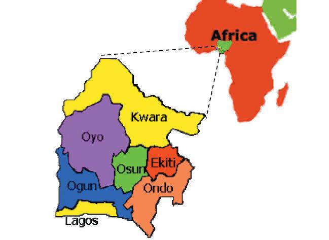 Yoruba Speaking States in Nigeria
