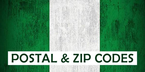 Full List of Postal Codes in Nigeria