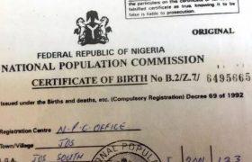 How To Obtain Birth Certificate in Nigeria