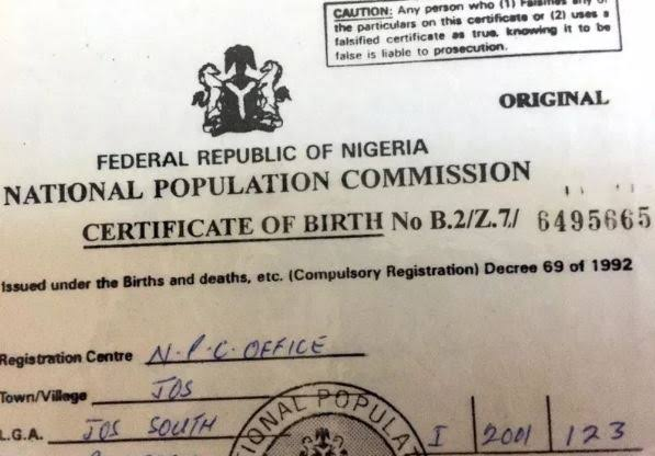 How To Obtain Birth Certificate in Nigeria
