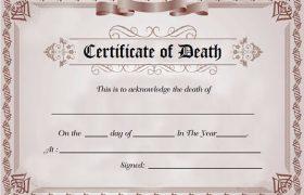 How To Obtain Death Certificate In Nigeria