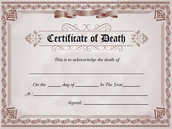 How To Obtain Death Certificate In Nigeria