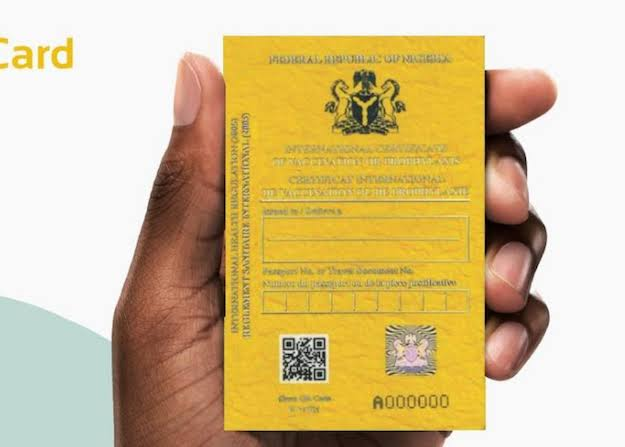 Cost Of Yellow Card In Nigeria Currently